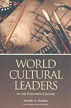 World cultural leaders of the twentieth century