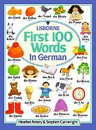 The first hundred words in German