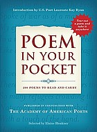 Poem in your pocket : 200 poems to read and carry