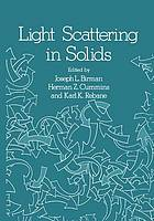 Light scattering in solids