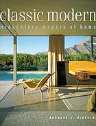 Classic modern : midcentury modern at home