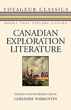 Canadian exploration literature