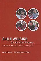 Child Welfare for the Twenty-First Century cover image