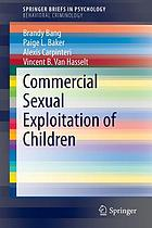 Commercial Sexual Exploitation of Children cover image