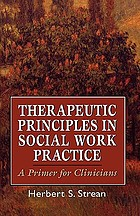 Therapeutic principles in social work practice : a primer for clinicians