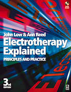Electrotherapy explained : principles and practice