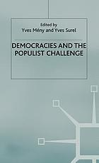 Democracies and the populist challenge