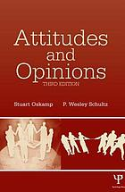 Attitudes and opinions.