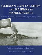 German capital ships and raiders in World War II