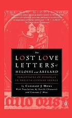 The lost love letters of Heloise and Abelard : perceptions of dialogue in twelfth-century France