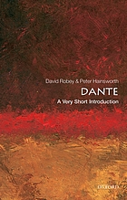 Dante : a very short introduction