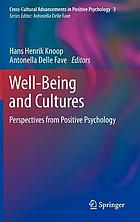 Well-being and cultures : perspectives from positive psychology
