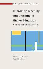 Improving teaching and learning in higher education : a handbook for Southern Africa
