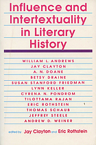 Influence and intertextuality in literary history