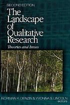 Landscape of Qualitative Research: Theories and Issues cover image