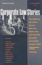 Corporate Law Stories.