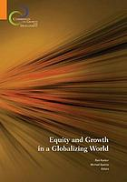 Equity and growth in a globalizing world