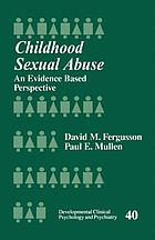 Childhood Sexual Abuse: An Evidence Based Perspective cover image