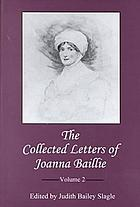 The collected letters of Joanna Baillie