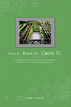 Find it, book it, grow it. : a robust process for account acquisition in electronic manufacturing services