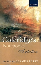 Coleridge's notebooks : a selection