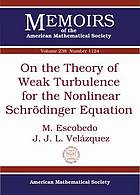 On the theory of weak turbulence for the nonlinear Schrödinger equation