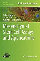 Mesenchymal stem cell assays and applications