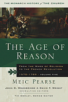 The age of reason : from the wars of religion to the French Revolution, 1570-1789