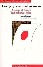 Emerging patterns of innovation : sources of Japan's technological edge