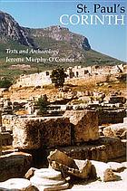 St. Paul's Corinth : texts and archaeology
