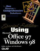 Special edition using Microsoft Office 97 with Windows 98