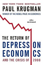 The return of depression economics and the crisis of 2008
