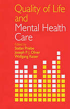 Quality of life and mental health care