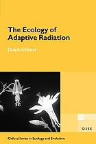 The ecology of adaptive radiation
