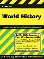 CliffsAP world history : an American BookWorks Corporation project