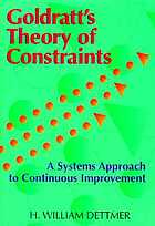Goldratt's theory of constraints : a systems approach to continuous improvement