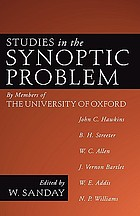 Studies in the synoptic problem