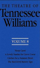 The theatre of Tennessee Williams, volume VIII.