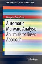 Automatic Malware Analysis : An Emulator Based Approach