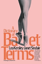A dictionary of ballet terms