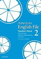 American English file. 2, Teacher's book