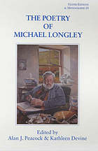 The poetry of Michael Longley