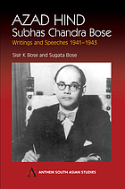 Azad Hind : writings and speeches, 1941-43