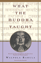 What the Buddha taught[pbk]