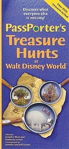 PassPorter's treasure hunts at Disney World and Disney Cruise Line