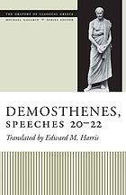 Demosthenes, speeches 20-22