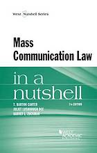 Mass communication law in a nutshell