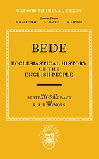 Bede's ecclesiastical history of the English people;