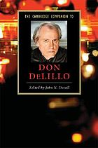 The Cambridge companion to Don DeLillo