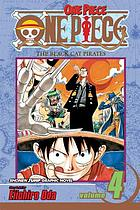 One Piece #4 Vol. 4, The Black Cat Pirates / The Black Cat Pirates.